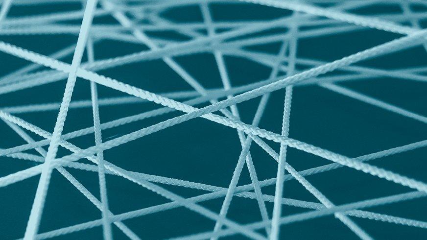 Netz aus Seil